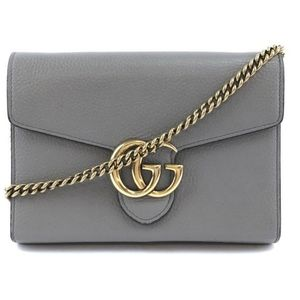 Gucci Marmont Chain Wallet Bag
